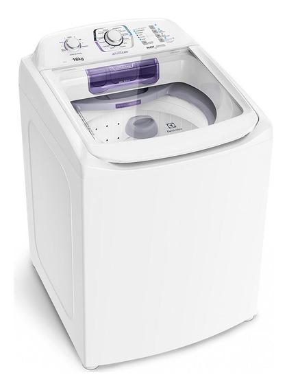 Lavadora De Roupas Automática 16kg Electrolu Branco