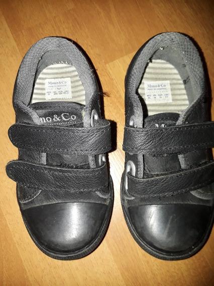 Zapatilla Mimo Basica Velcro Negro