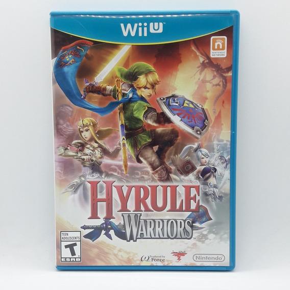 Hyrule Warriors Nintendo Wii U Midia Fisica Jogo Game