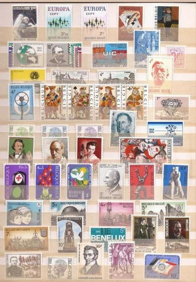Lote Com 49 Selos Da Belgica - Diversos, Belíssimos