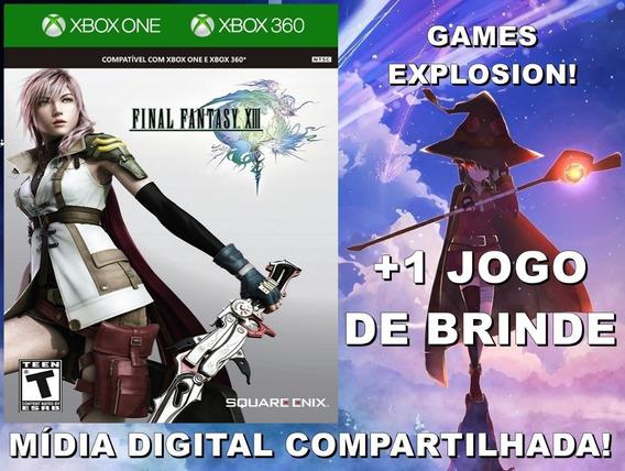 Final Fantasy Xiii 13 Xbox 360/ One +1 Jogo - Mídia Digital