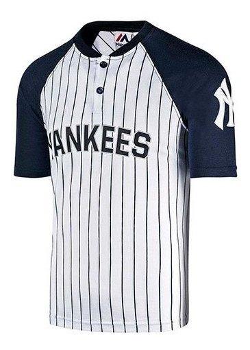 Playera Yankees Majestic Baseball Jersey Mffs796pnk Impo19