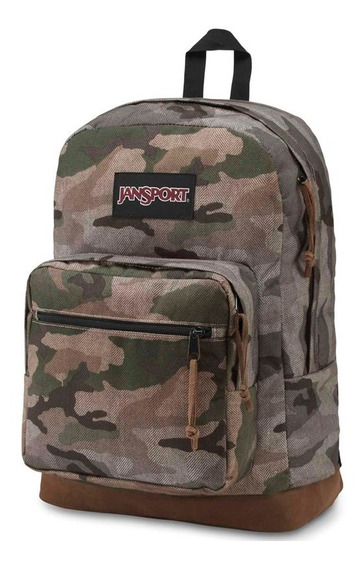 Mochila Jansport ® Camuflada Notebook Right Pack Expression