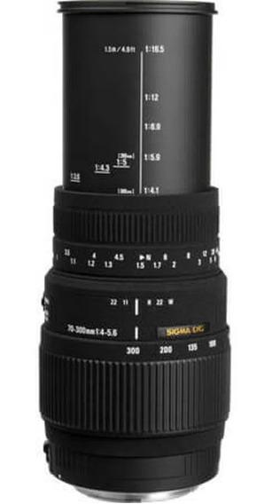 Lente Sigma Dg 70-300mm F/4-5.6 Semi Nova