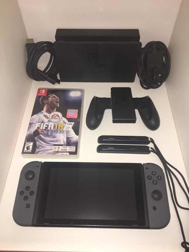 Nintendo Switch Nueva + Fifa 18 + Micro Sd 64 Gb