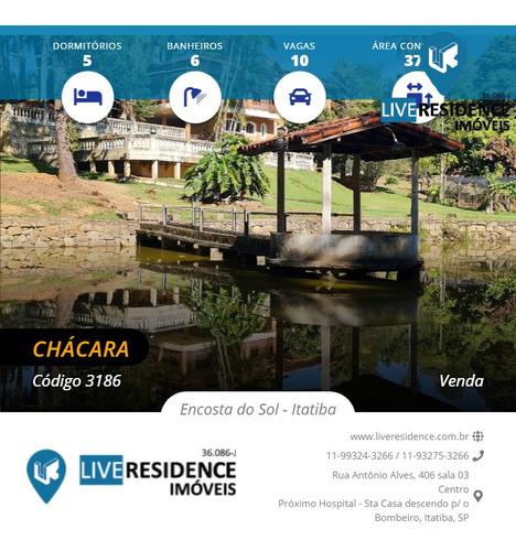 Imagem 1 de 15 de Chácara A Venda Na Cidade De Jundiaí A Itatiba - Live Residence - 3186