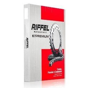 Kit Transmissão/relação Riffel Titan/fan160 Colocada!
