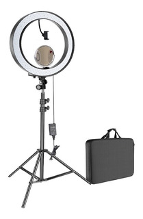 Kit Aro De Luz Led Frio Calido Tripie Foto Video Maquillaje