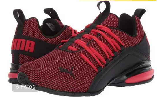 Puma Axelion Mesh. 192488 03 High Risk Red- Puma Black.
