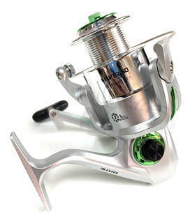 Reel Frontal Tech Silver 50 Pesca Variada Costa 3 Rulemanes
