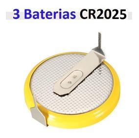 Bateria Cr2025 Cartucho C Pinos Solda - Verifique Seu Modelo