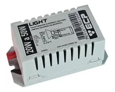 3 Transformador Eletronico Para Dicroica 20w A 50w 127v