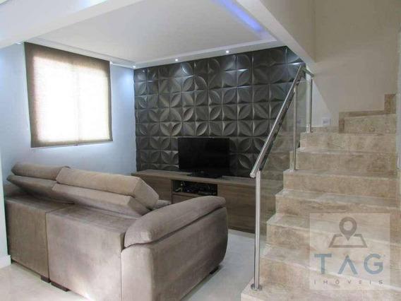 Casa De Condomínio Para Venda Com 80 Metros Quadrados Em Fazenda Santa Cândida Em Campinas - Sp. - Ca0308