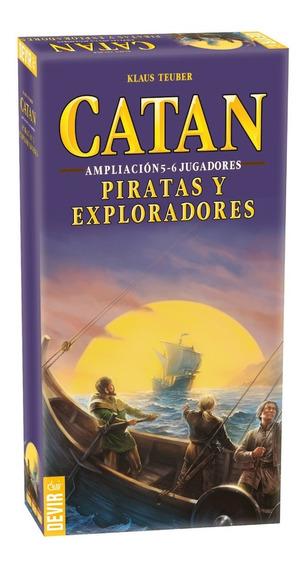 Juego De Mesa Extensión Piratas Y Exploradores 5y6 Jugadores