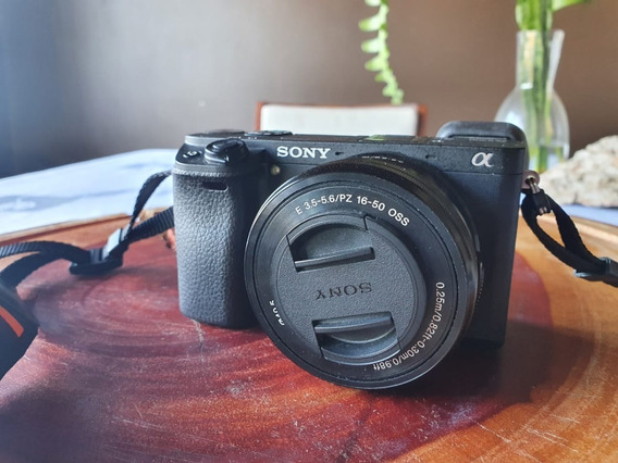 Camera Sony A6300 Com Lente