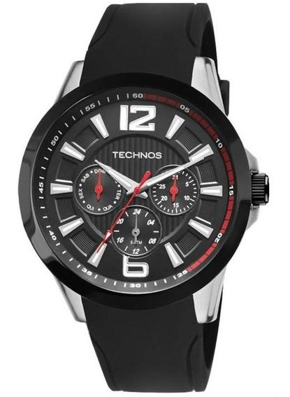 Relógio Technos Masculino Sport Silicone 6p29ahc/8p