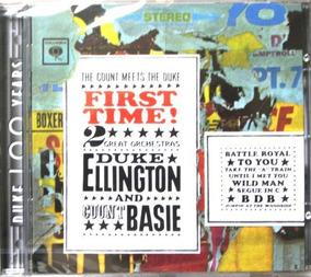 Cd Count Basie Duke Ellington - 120 Novo Frete Gratis