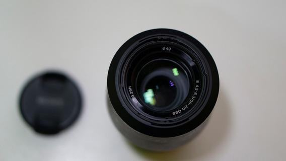 Lente Sony 55-210mm Oss