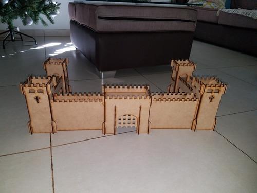 Fuerte Medieval Fibro Facil