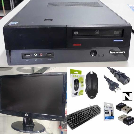 Computador Core 2duo Ddr3 160 Monitor 19