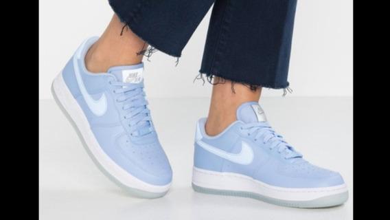 Nike Air Force 1 07 Ess Celestes Nuevas En Caja