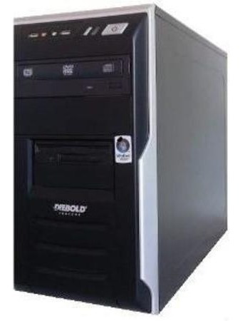 Cpu Completo Celeron 1gb Hd 80gb + Monitor Lcd 17