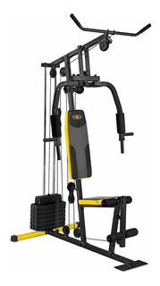 Maquina Home Gym Fitness Multifuncional Cuerda