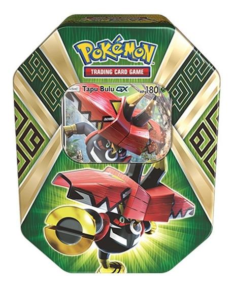 Coleccion Tarjetas Tapu Bulu Island Guardians Tin Pokemon