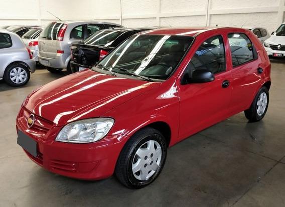Chevrolet Celta 1.0 Life 8v Flex 2008 Vermelho.