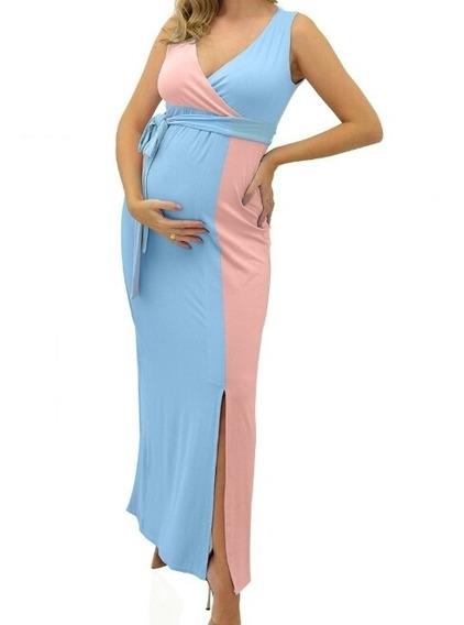Vestido Grávida Chá De Bebê