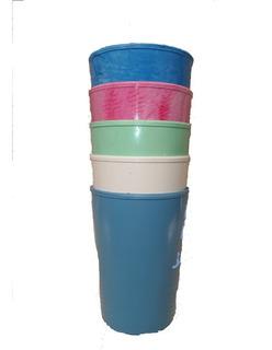 Vaso Plástico Irrompible, No Descartable !!! 250 C.c.