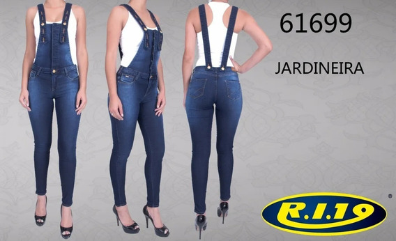 Jardineira Feminina Ri19 Jeans 61699