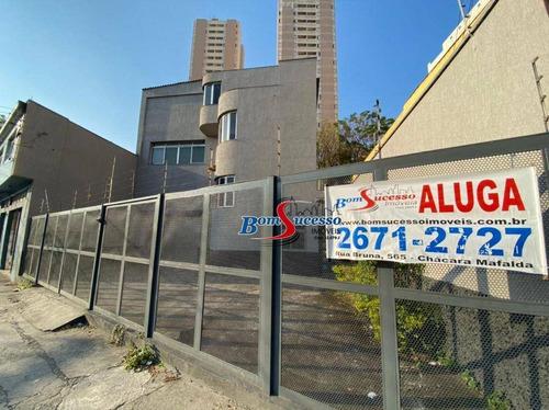 Prédio Para Alugar, 735 M² Por R$ 12.000,00/mês - Vila Ema - São Paulo/sp - Pr0125