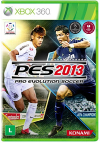 Jogo Pes 2013 Xbox 360 Ntsc Midia Fisica Original