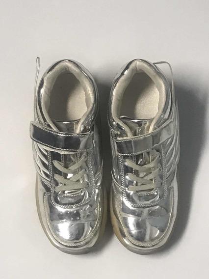 Zapatillas Con Ruedas Y Luces 35