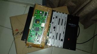 Pabx Intelbras 94 E Uma Cpu Da Pabx Intelbras 220