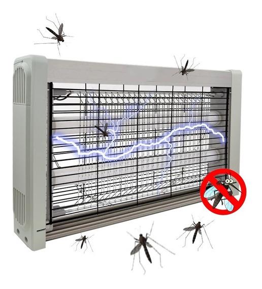 Armadilha Elétrica Pega Mosca Dengue Zika Vírus Insetos