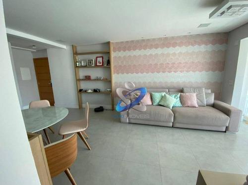 Imagem 1 de 14 de Apartamento Totalmente Planejado E Decorado No Jardim Aquarius - Ap2771