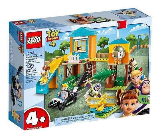 Lego Juniors Toy Story 4 Aventura De Buzz Y Bo Peep 10768