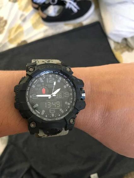 Relógio Casio G Shock Militar Camuflado