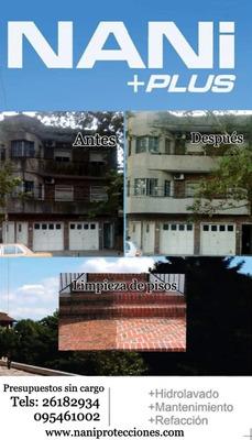 Hidrolavados Fachadas Reparaciones Pintura Edificios Y Casas