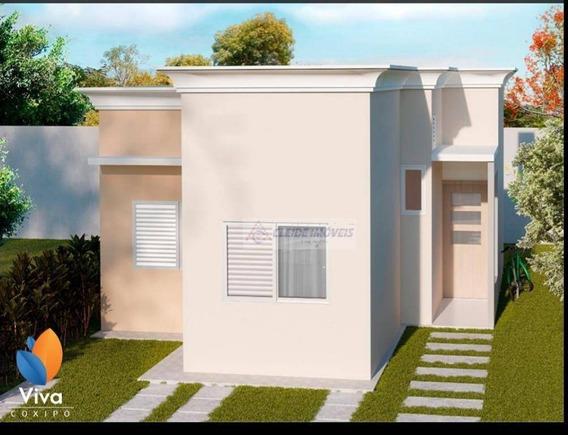 Lançamento, Casa Condomínio Viva Cóxipo Com 2 Dormitórios À Venda, 52 M² Por R$ 180.000,00 - Parque Georgia - Cuiabá/mt - Ca1149