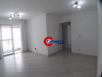 Apartamento Com 2 Dormitórios Para Alugar, 62 M² Por R$ 1.250/mês - Vila Rosália - Guarulhos/sp - Ap3918