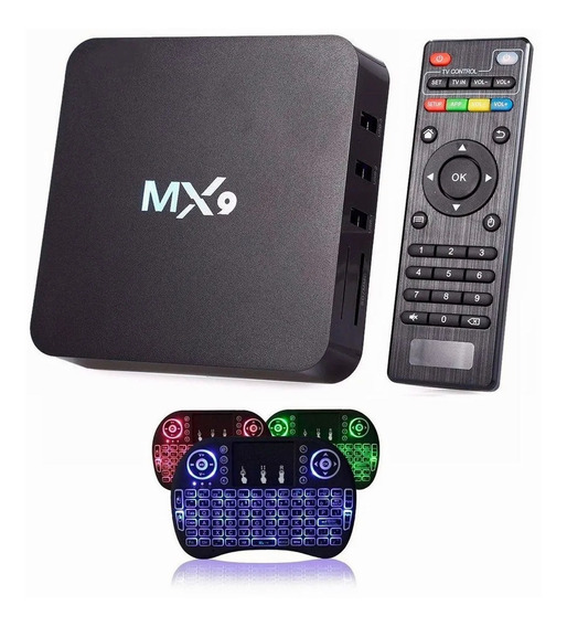 Kit Conversor De Caixa De Tv 4k + Teclado