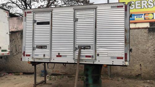 Bau Aluminio 3m 1,50alt Hr Kia Bongo 10x Sem Juros