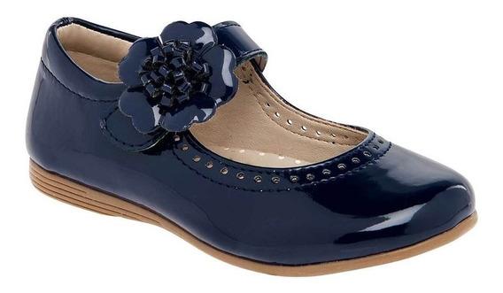 Zapato De Piso Casual Niña Jakuna 817 Marino 13-17 *076-087 T4