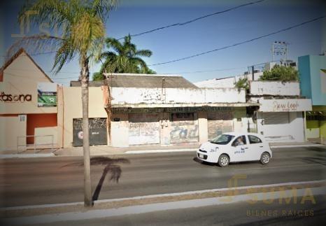 terrenos en venta en terreno en venta en avenida hidalgo, tampico, oportunidad de negocio.