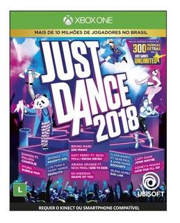 Just Dance 2018 (mídia Física) - Xbox One (novo)