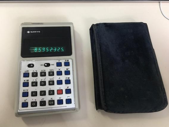 Calculadora Sanyo Original Com Bolsa