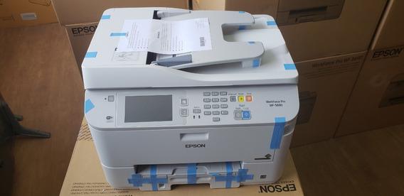 Multifuncional Epson Wf 5690 Novo Com Kit Extra De Tinta Nf